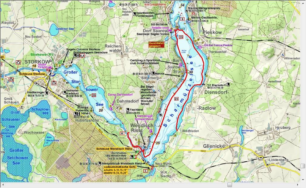 Dag 3, langs de oevers van de Scharmützelsee (18,4 km)