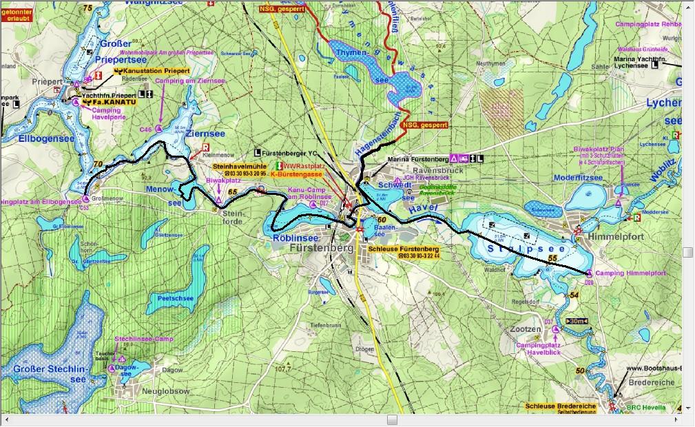 Dag 8, van Elbogensee naar camping Himmelpfort aan de Stolpsee