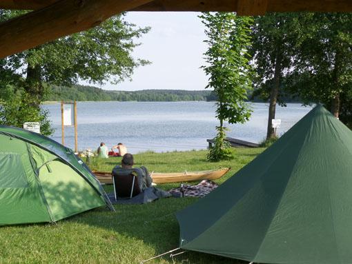 Camping Havelperle in Priepert