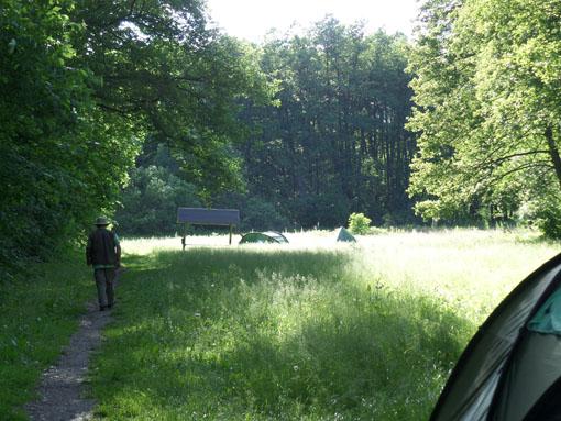 Op camping 'Am Elbogensee'