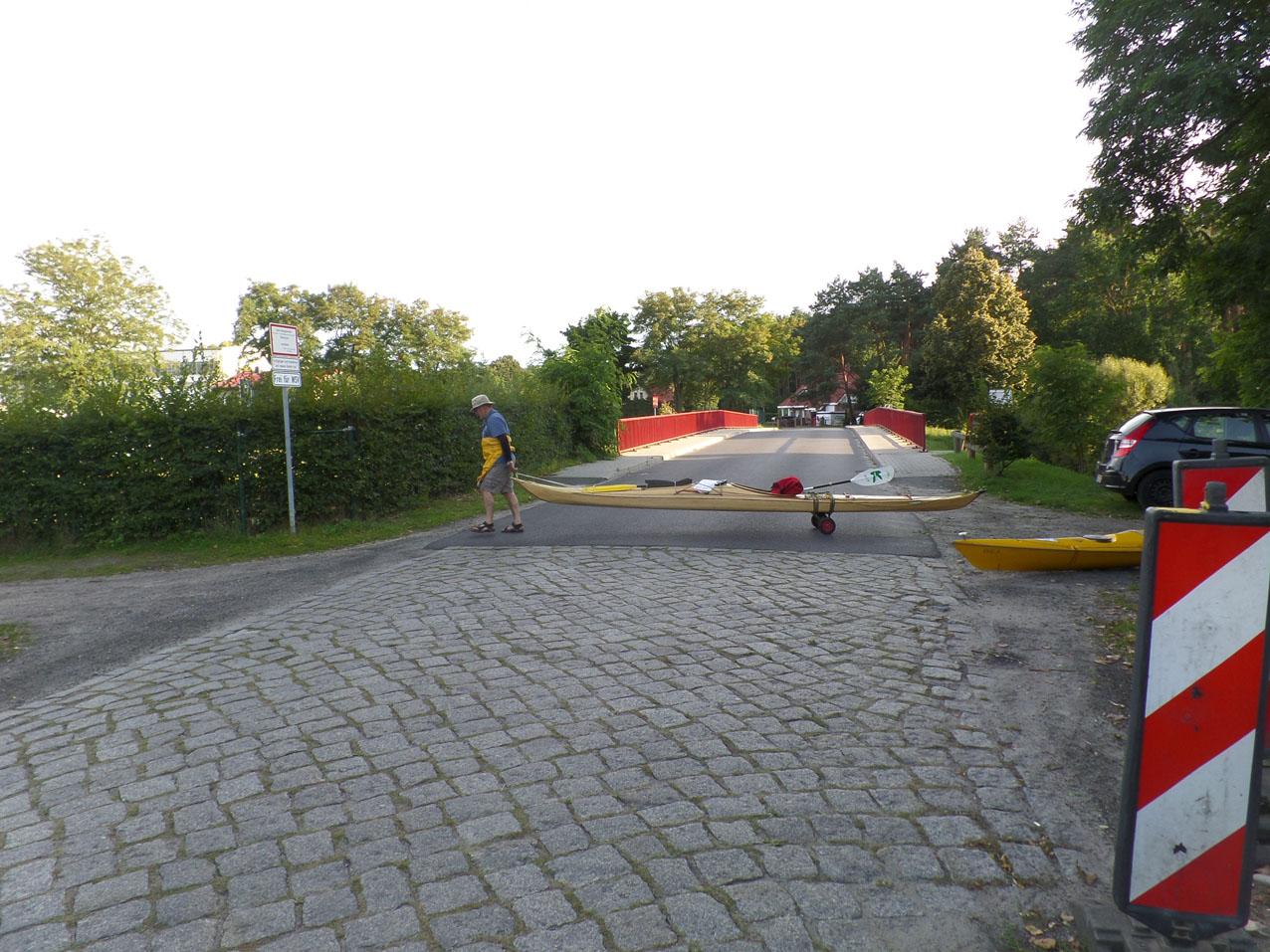 Oversteek tussen Malz en Friedrichstal
