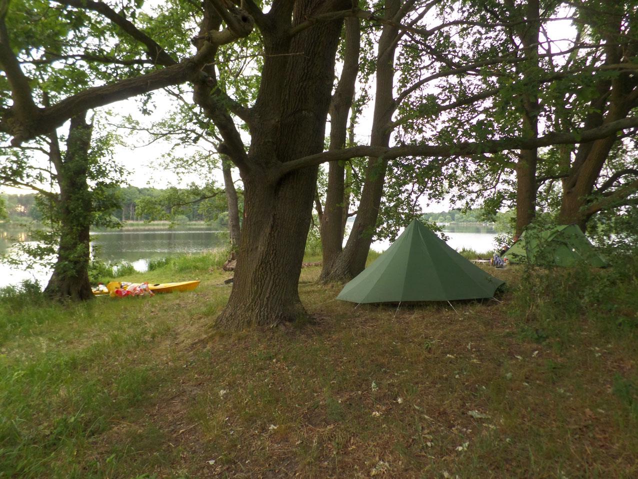Wildkamperen aan de Neuendorfer See